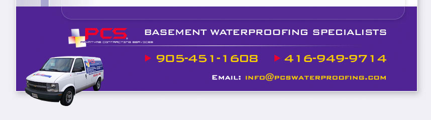 PCS Basement Waterproofing Specialists
